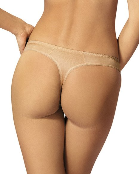 Yvette stringi - beżowe